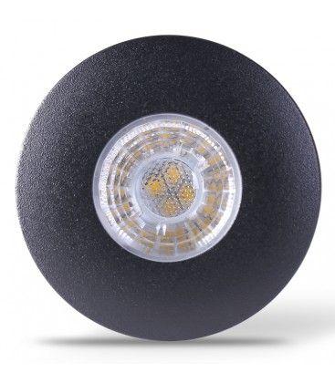 Image of   LEDlife Inno69 møbelspot - Hul: Ø5,5 cm, Mål: Ø6,9 cm, RA95, sort, 6V