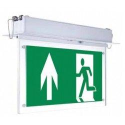 Lamper V-Tac loftmonteret/indbygget LED exit skilt - 2W, Samsung LED chip