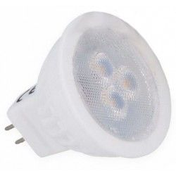 MR11 fatning 3W LED spotpære - Keramisk, 35mm, 12V, MR11 / GU4