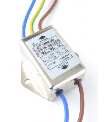 EMI filter - Støjfilter, 10A, 230V
