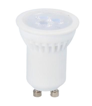 Mini 3W LED spotpære - Ø35mm, Keramisk, Mini GU10