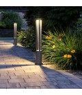 V-Tac 10W LED havelampe - Sort, 80 cm, IP65, 230V