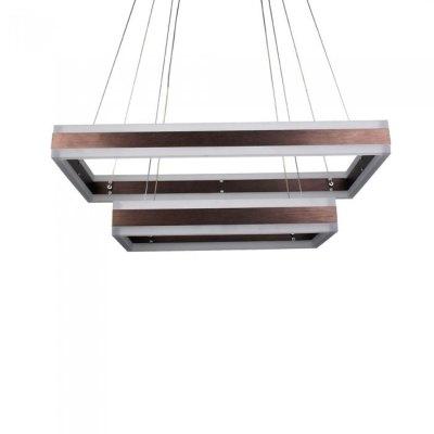 Image of   V-Tac 115W LED lysekrone - Blødt lys, dæmpbar, varm hvid, inkl. lyskilde - Kulør : Varm, Dæmpbar : Dæmpbar