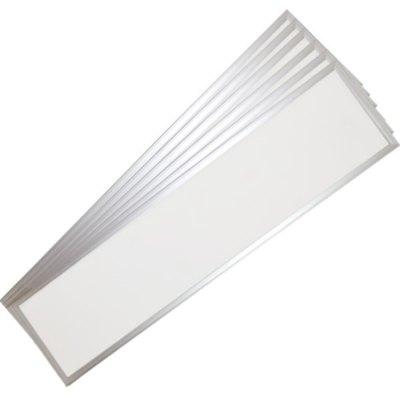 Image of   LED Panel 120x30 - 45W, UGR, 3600lm, hvid kant - Kulør : Neutral, Dæmpbar : Ved tilkøb