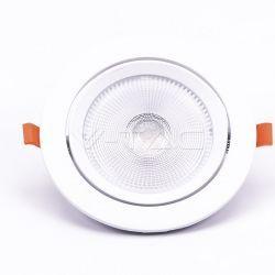 Indbygningsspot V-Tac 20W LED spotlight - Hul: Ø14,5 cm, Mål: Ø17 cm, 3 cm høj, Samsung LED chip, 230V