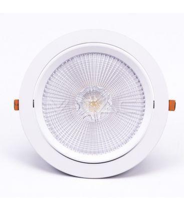 V-Tac 30W LED spotlight - Hul: Ø19,5 cm, Mål: Ø22,5 cm, 3 cm høj, Samsung LED chip, 230V