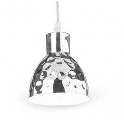 Pendel lamper V-Tac kobber pendel lampe - Krom farve, Ø15cm, E27
