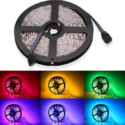 Image of   10W pr. meter RGB LED strip - 5m, 60 LED pr. meter, 24V