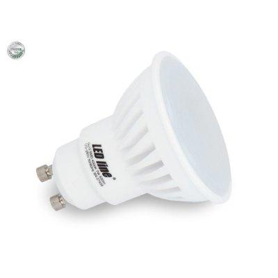 Image of   7W LED spot - Keramisk, 230V, GU10 - Kulør : Varm, Dæmpbar : Ikke dæmpbar