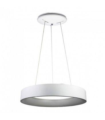 V-Tac 30W LED lysekrone - Hvid, blødt lys, dæmpbar, varm hvid, inkl. lyskilde