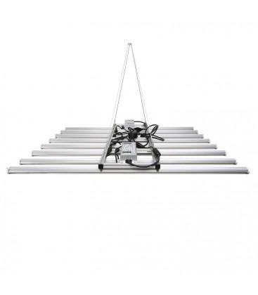 460W LED vækstlampe - 100x100 cm, høj kvalitet, inkl. ophæng, ægte 460W