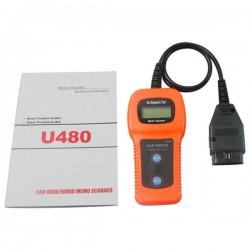 Obd.u480: Universal OBDII bil scanner/diagnose m. CAN
