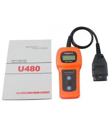 Universal OBDII bil scanner/diagnose m. CAN