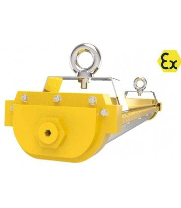 120 cm EX armatur 40W - ATEX godkendt, RA 90, IP66 stænktæt