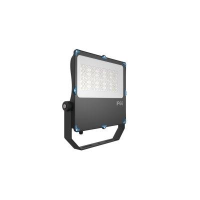Image of   100W LED projektør - Til parkeringspladser, boldbaner, svømmehaller og udsatte områder valgfri spredning og kulør - Kulør : Kold, Dæmpbar : Ikke dæmpbar, Spredning : 120°