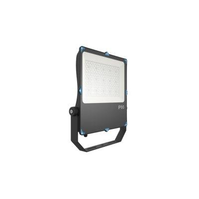 Image of   150W LED projektør - Til parkeringspladser, boldbaner, svømmehaller og udsatte områder valgfri spredning og kulør - Kulør : Kold, Dæmpbar : Ikke dæmpbar, Spredning : 120°