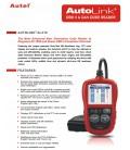 AUTEL Autolink AL319 - universal OBDII fejlkodelæser