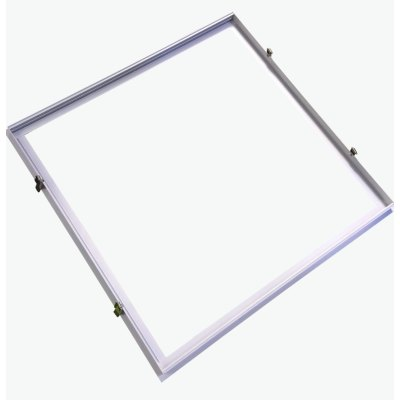 Billede af Indbygningsramme til 60x60 LED panel - Perfekt til Troldtekt og gips, indsænkning plant med loftet