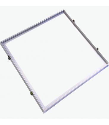 Image of   Indbygningsramme til 60x60 LED panel - Perfekt til Troldtekt og gips, indsænkning plant med loftet