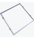 Indbygningsramme til 60x60 LED panel - Perfekt til Troldtekt og gips, indsænkning plant med loftet