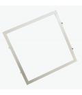 Indbygningsramme til 60x60 LED panel - Perfekt til Troldtekt og gips