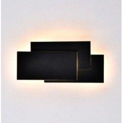 Lamper V-Tac 12W LED sort væglampe - IP20 indendørs, 230V, inkl. lyskilde