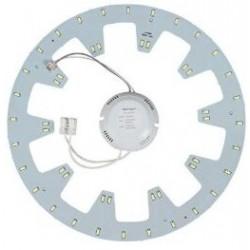 2D kompakt lysstofrør LED indsats 24W - Ø27cm, Til udskiftning af cirkel og sommerfuglrør