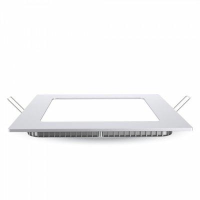Image of   V-Tac 24W LED indbygningspanel - Hul: 28x28 cm, Mål: 30x30 cm, 230V, Samsung chip - Kulør : Neutral, Dæmpbar : Ved tilkøb