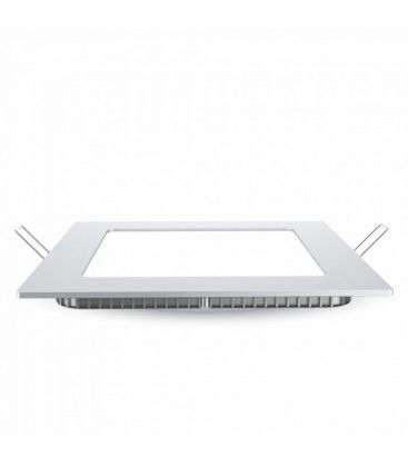 V-Tac 24W LED indbygningspanel - Hul: 28x28 cm, Mål: 30x30 cm, 230V, Samsung LED chip