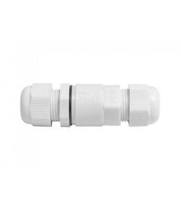 V-Tac hvid rund samledåse - Til samling af ledninger, IP68 vandtæt