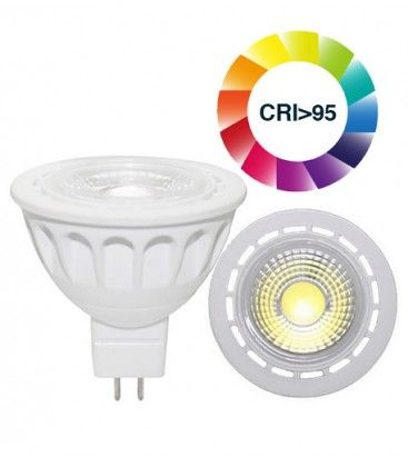 LEDlife LUX3 LED spotpære - 3W, dæmpbar, RA 95, 12V, MR16 / GU5.3