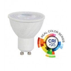 GU10 LED pærer V-Tac 6W LED spot - RA 95, 230V, GU10