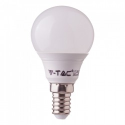 Demo og restsalg Restsalg: V-Tac 5,5W LED pære - P45, E14