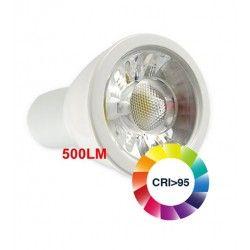 MR16 / GU5.3 fatning LEDlife LUX5 LED spotpære - 5W, RA 95, 12V, dæmpbar, MR16