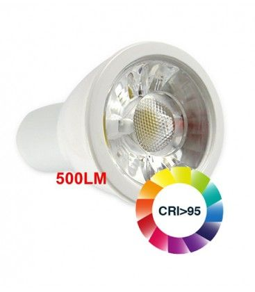 LEDlife LUX5 LED spotpære - 5W, dæmpbar, RA 95, 12V, MR16 / GU5.3