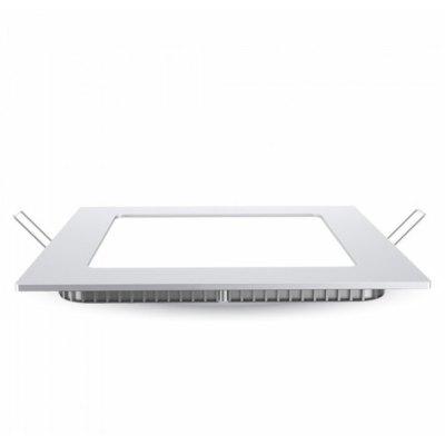 Image of   V-Tac 18W LED indbygningspanel - Hul: 21x21 cm, Mål: 22,5x22,5 cm, 230V, Samsung chip - Kulør : Neutral, Dæmpbar : Ved tilkøb