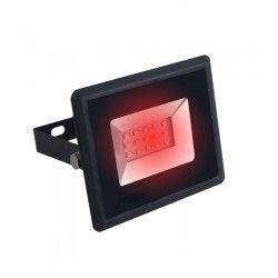LED Projektør V-Tac 10W LED projektør - Arbejdslampe, rød, udendørs