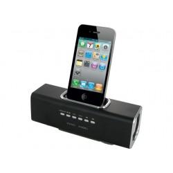 Iphone højttaler, 2x3w, Aktiv forstærke, indbygget batteri, USB og MicroSD