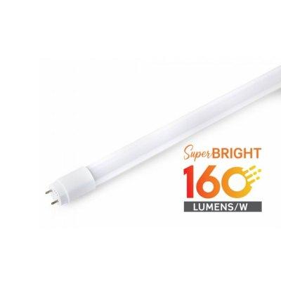 Image of   V-Tac T8-Performer150 Evo - 160lm/W, 15W LED rør, 150 cm - Kulør : Neutral, Dæmpbar : Ikke dæmpbar