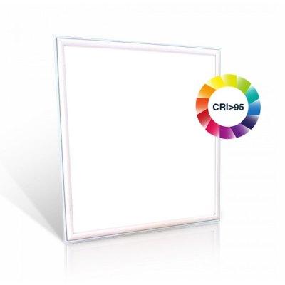 Image of   LED Panel 60x60 - 45W, 3600lm, RA95, hvid kant - Kulør : Neutral, Dæmpbar : Ved tilkøb