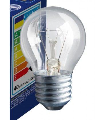 Klar E27 25W glødetrådspære - Traditionel pære, 200lm, dæmpbar, PS45