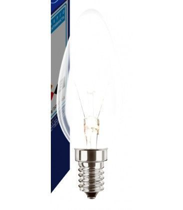 Klar E14 25W glødetrådspære - Traditionel pære, 200lm, dæmpbar, B35
