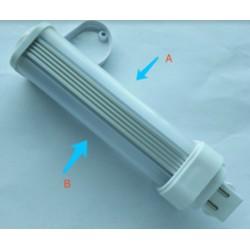 G24 LEDlife G24D LED pære - 5W, 240°, mat glas