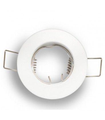 Downlight kit uden lyskilde - Hul: Ø4 cm, Mål: Ø6 cm, mat hvid, vælg MR11 eller GU10 fatning