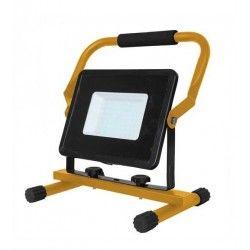 LED Projektør V-Tac 50W LED arbejdslampe - Til udendørs brug, inkl stander