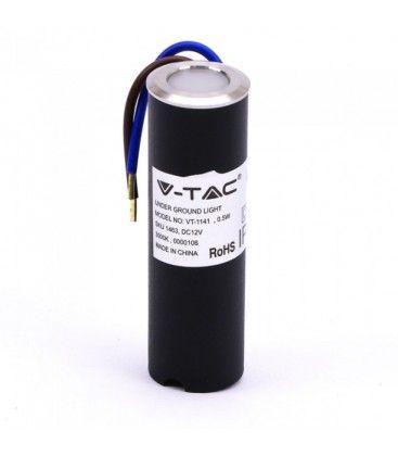 V-Tac nedgravningsspot - 0,5W, 12V