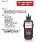Autel Maxi Service OLS301 - Nulstil service og fejlkoder - også til fabriksnye modeller