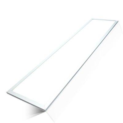 Image of   LED Panel 120x30 - 45W, 5400lm, 120lm/w, hvid kant - Kulør : Kold, Dæmpbar : Ved tilkøb