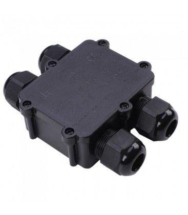 V-Tac samleboks - Til videresløjfning, IP68 vandtæt
