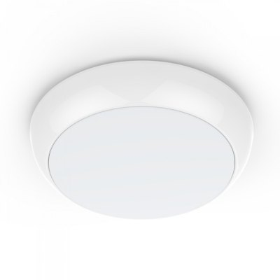 Image of   V-Tac 15W LED loftslampe - Mikrobølgesensor, skumringssensor, vågelys, IP65, inkl. lyskilde - Kulør : Neutral, Dæmpbar : Ikke dæmpbar